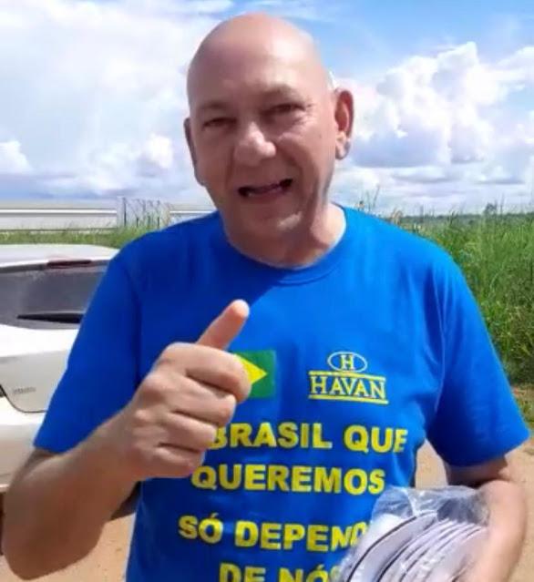 Luciano Hang, dono da Havan, afirma que estará na inauguração de ponte em Abunã