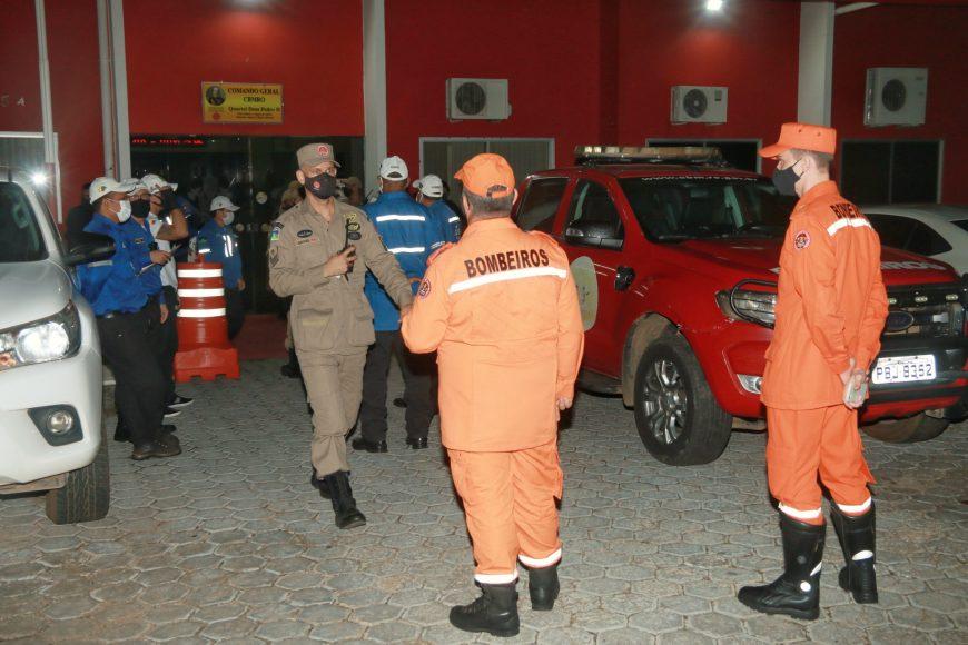 """Na 9ª noite da """"Operação Prevenção"""", agentes fiscalizadores reforçam para a população determinações do decreto em vigor"""