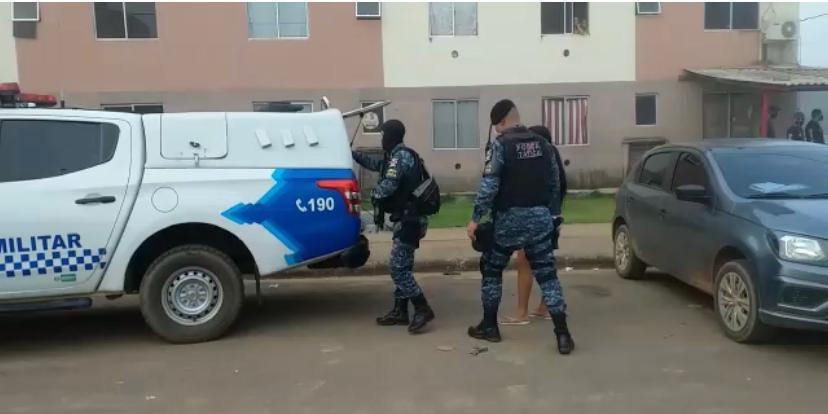 Polícia Civil e Militar deflagram operação e prendem membros de facção no Orgulho do Madeira