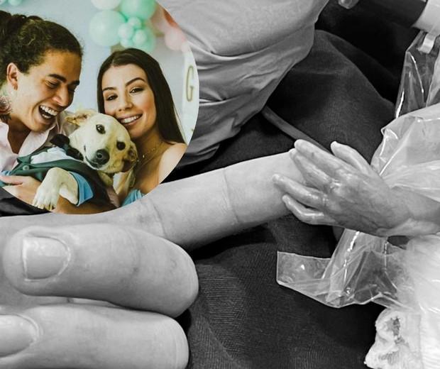 Filho de Whindersson e Maria Lina nasce prematuro de 22 semanas e vai para UTI