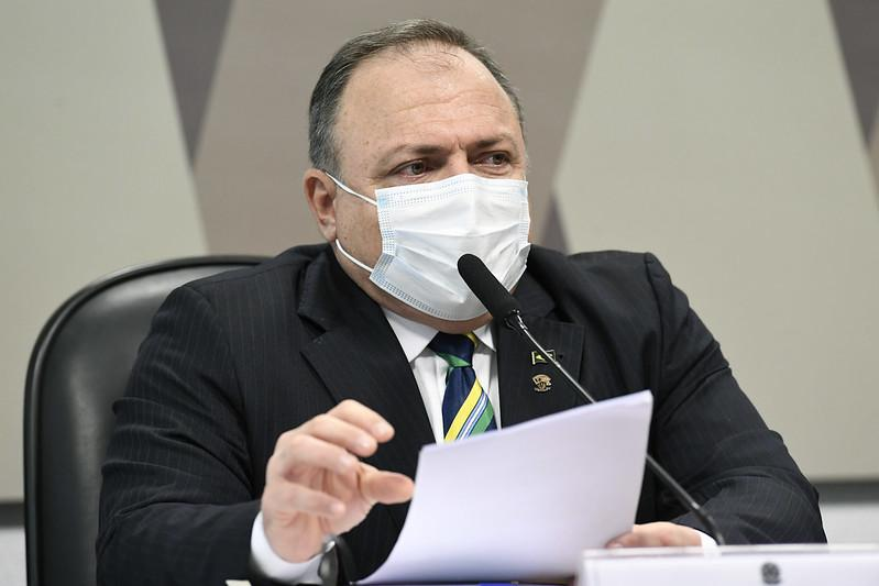 Depoimento de Pazuello à CPI da Covid é suspenso e será retomado nesta quinta-feira