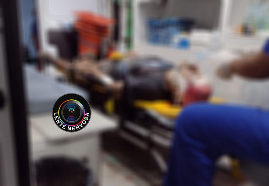 SAIU NA NUCA – Andarilho morre no hospital após ser atingido com tiro na boca