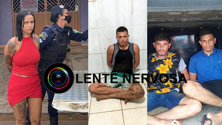 IDENTIFICADOS – Suspeitos são presos após fuga e troca de tiros na zona sul – VEJA O VÍDEO
