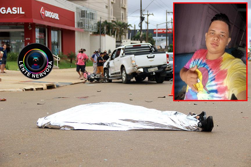 Identificado motociclista que morreu em acidente com várias vítimas no Bairro Agenor de Carvalho
