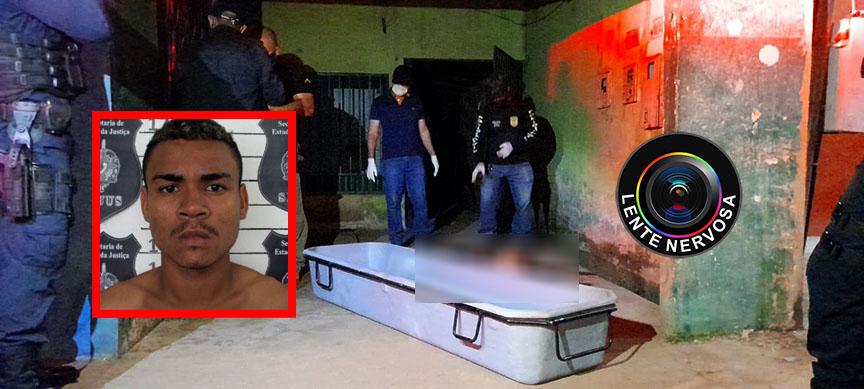 MONITORADO – Homem é morto a tiros em frente residência na Rua Raimundo Cantuária