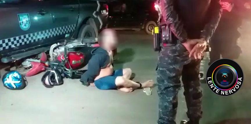 Monitorado por tornozeleira é preso após fugir de abordagem na zona leste da capital – VÍDEO