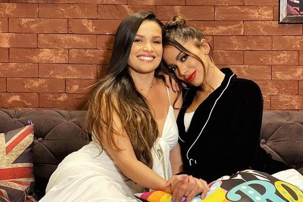 "Anitta se derrete por Juliette: ""Já virou da família"""