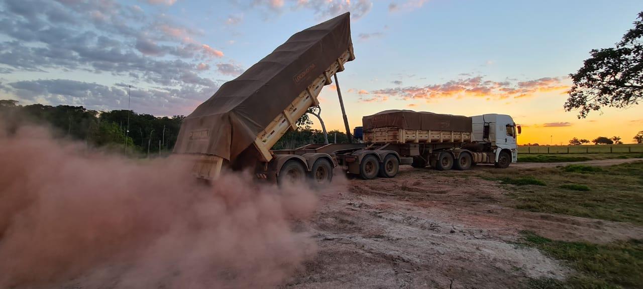 """Mais de 100 produtores rurais do Cone Sul são beneficiados com o programa """"Mais Calcário"""""""