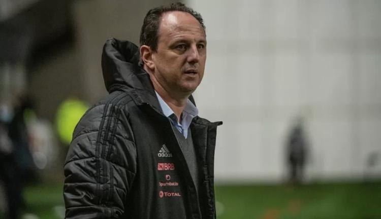 Técnico do Flamengo, Rogério Ceni é diagnosticado com covid-19