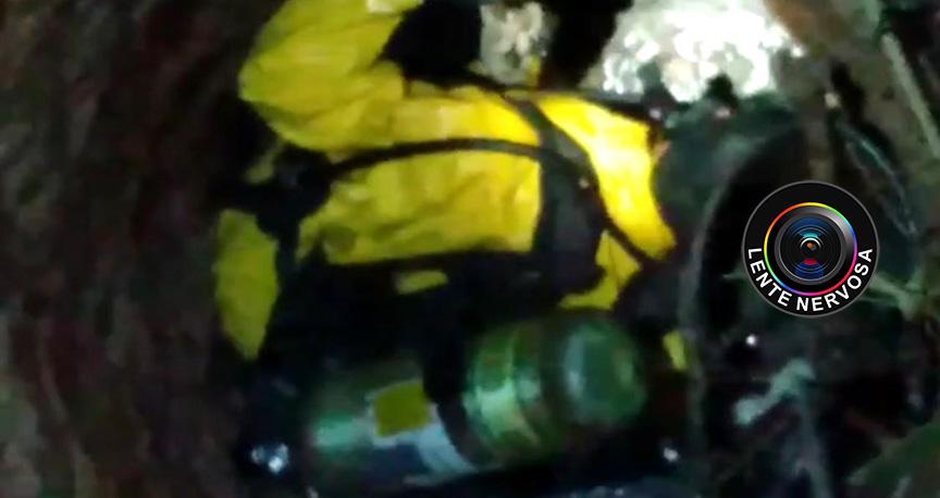 Morador encontra ossada humana em poço no Bairro Aeroclube – VEJA VÍDEO