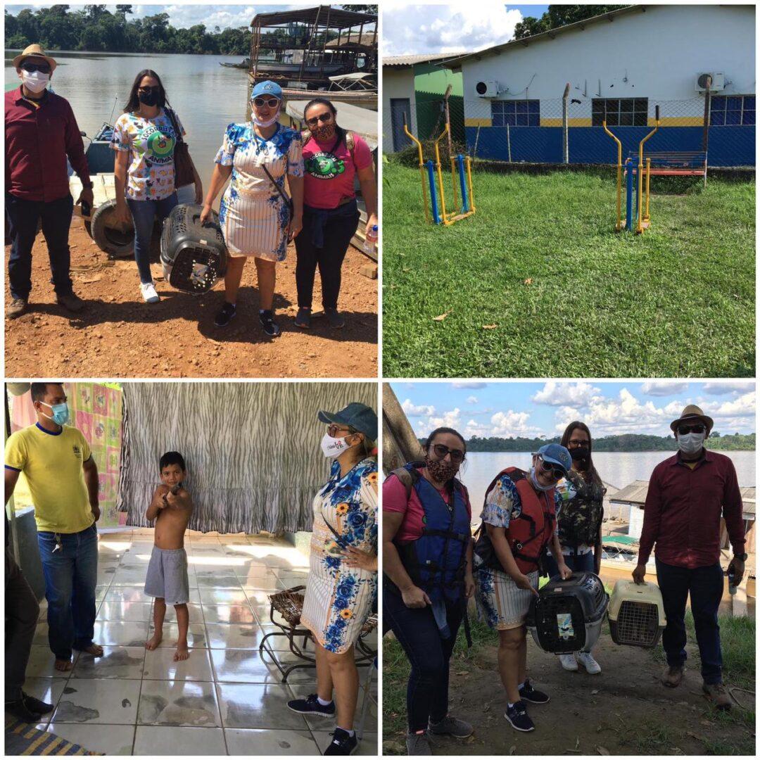 Vereadora Márcia Socorristas Animais reafirma compromisso com a comunidade do Distrito de São Carlos