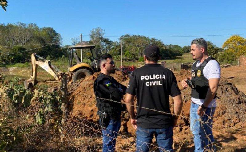 URGENTE – Ex-vereador de Rondônia é preso pela Polícia Civil suspeito de matar e enterrar amante em cova na sua própria chácara