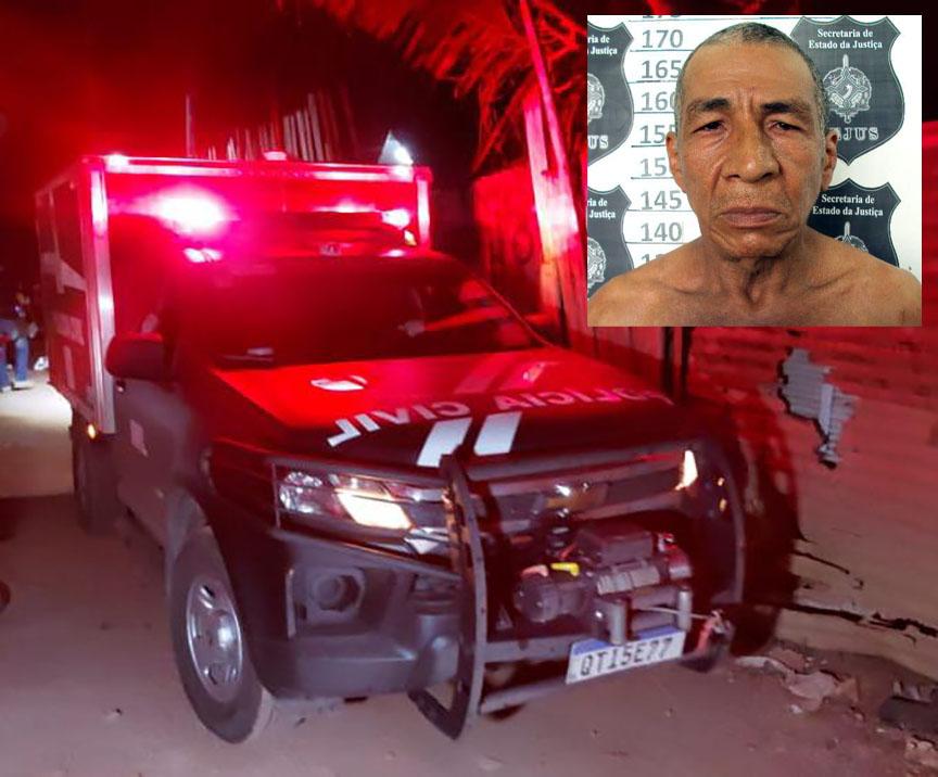 Idoso é executado a tiros em beco na Vila Princesa