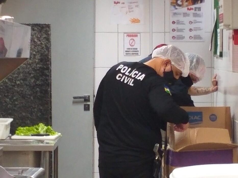 Polícia Civil, Procon e Vigilância Sanitária realizam operação no Porto Velho Shopping