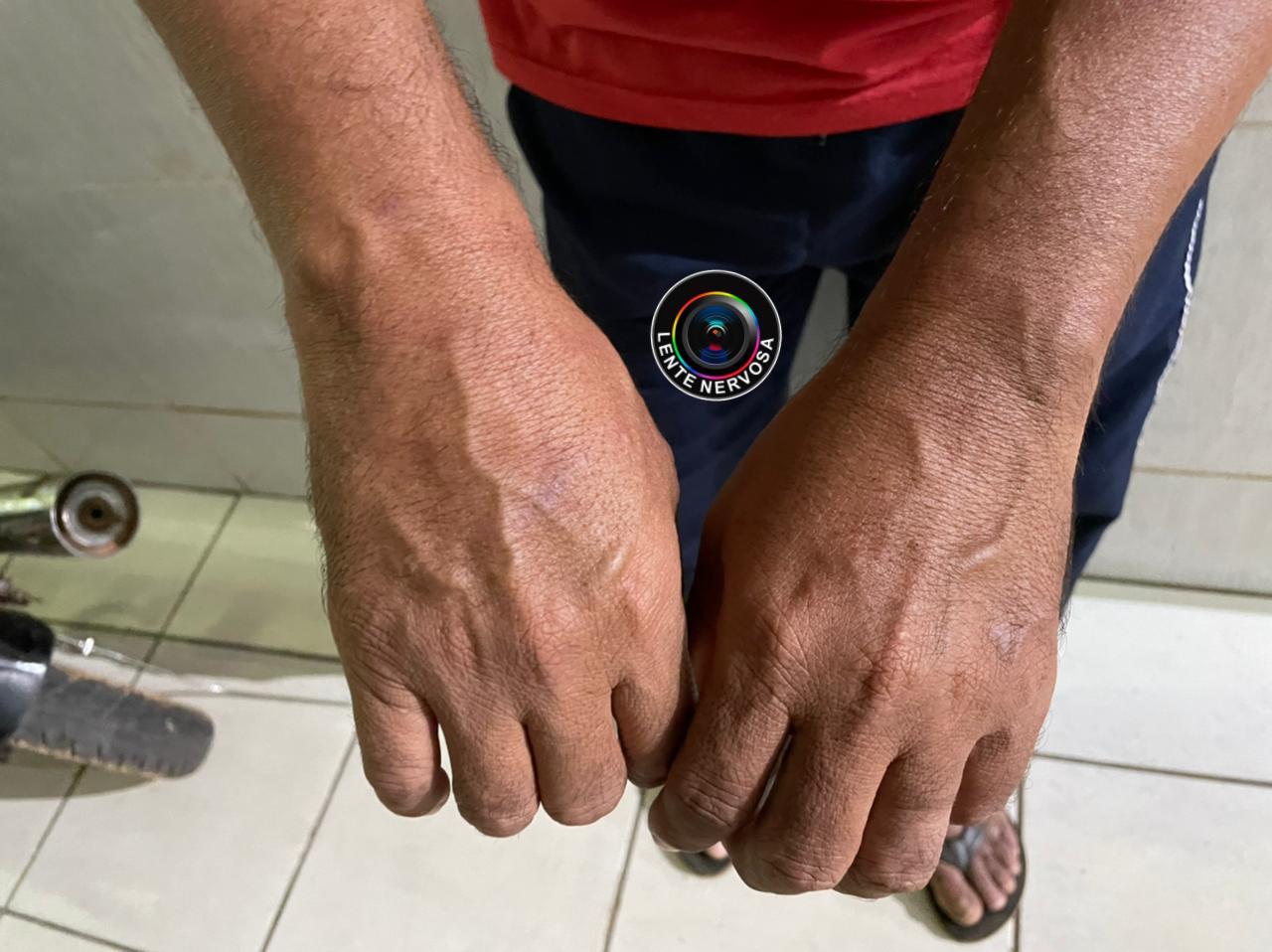 IDENTIFICADOS – Motorista de aplicativo é amarrado após roubo e criminosos são presos; um foi baleado