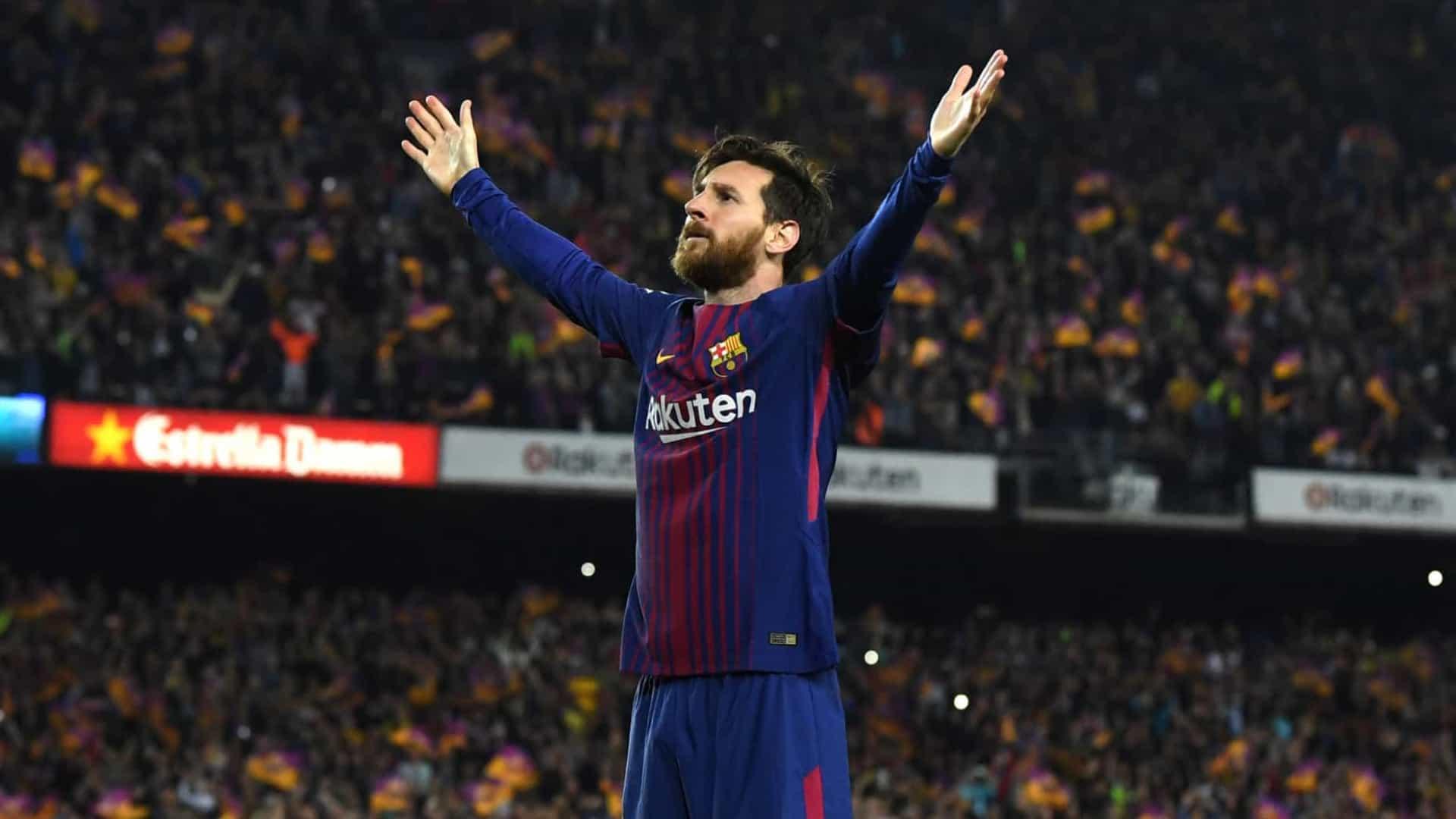 Barcelona anuncia que Lionel Messi não renovará contrato com o clube espanhol
