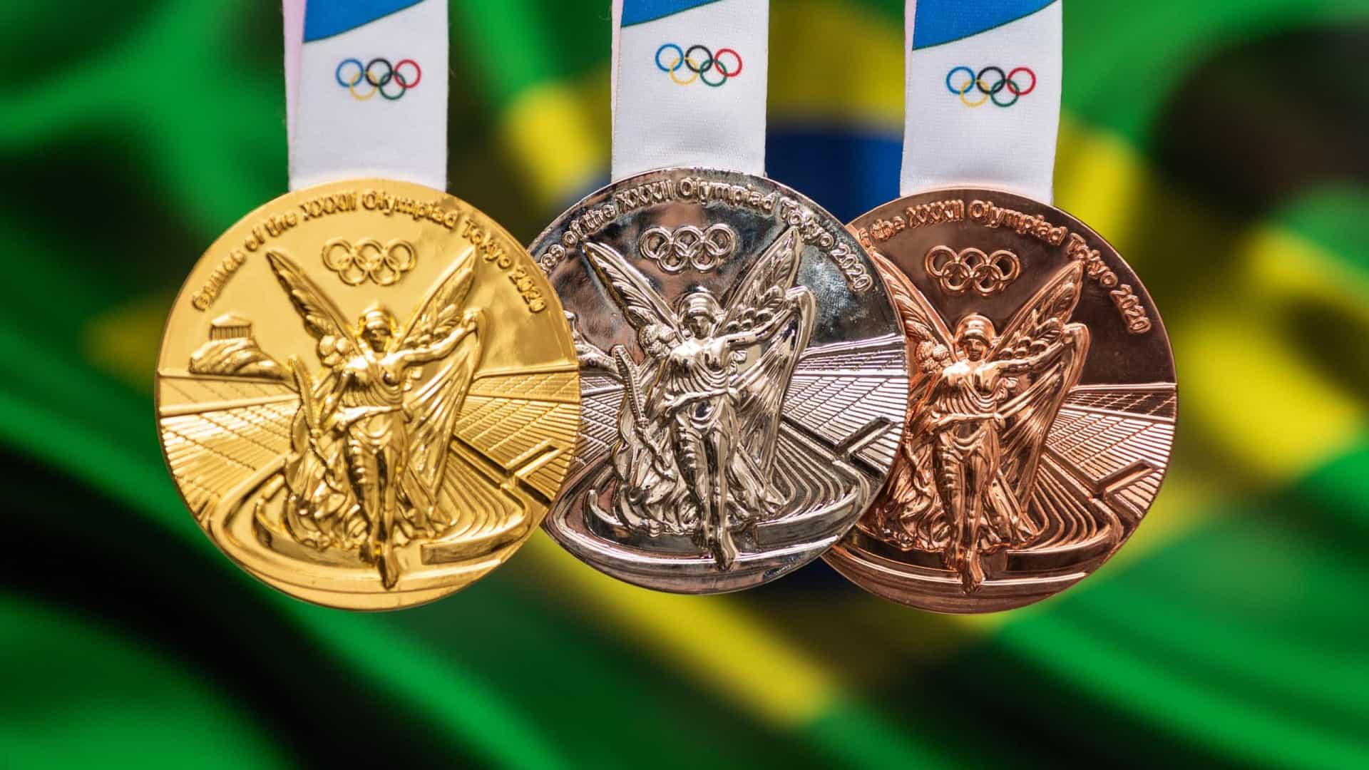 Brasil chega a 19 medalhas nas Olimpíadas e alcança desempenho raro