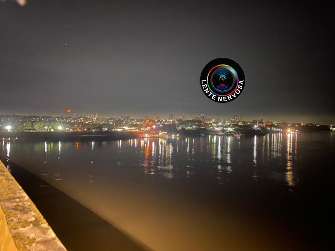 Mulher tenta se jogar da ponte sobre o Rio Madeira em Porto Velho
