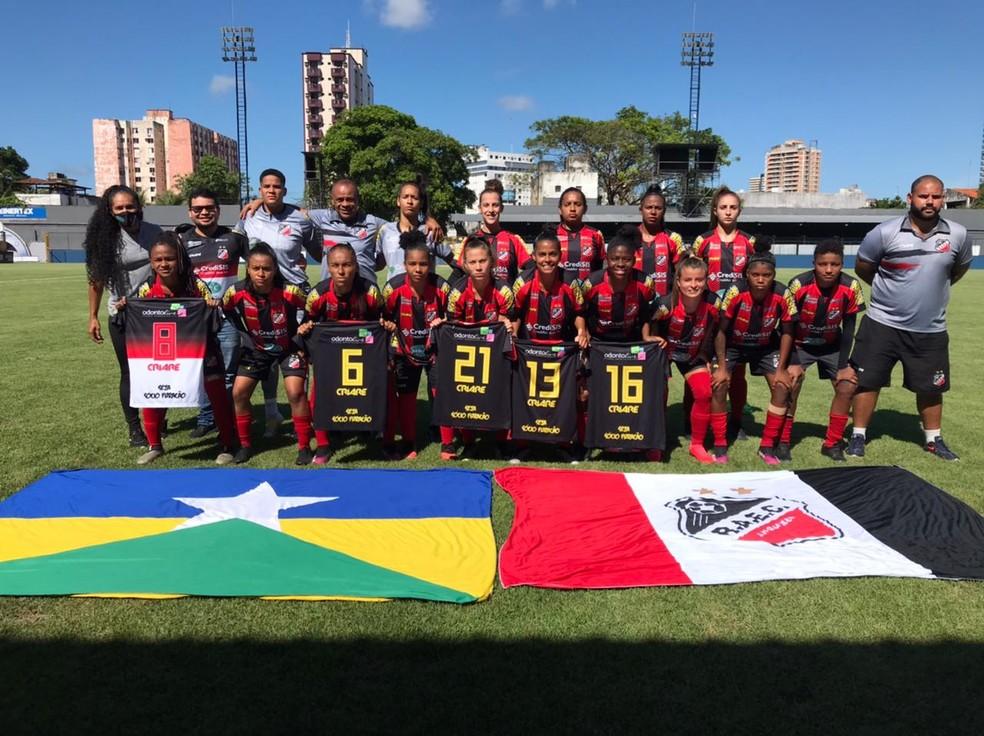 Real Ariquemes mantém elenco e inicia preparação para o Campeonato Estadual Feminino