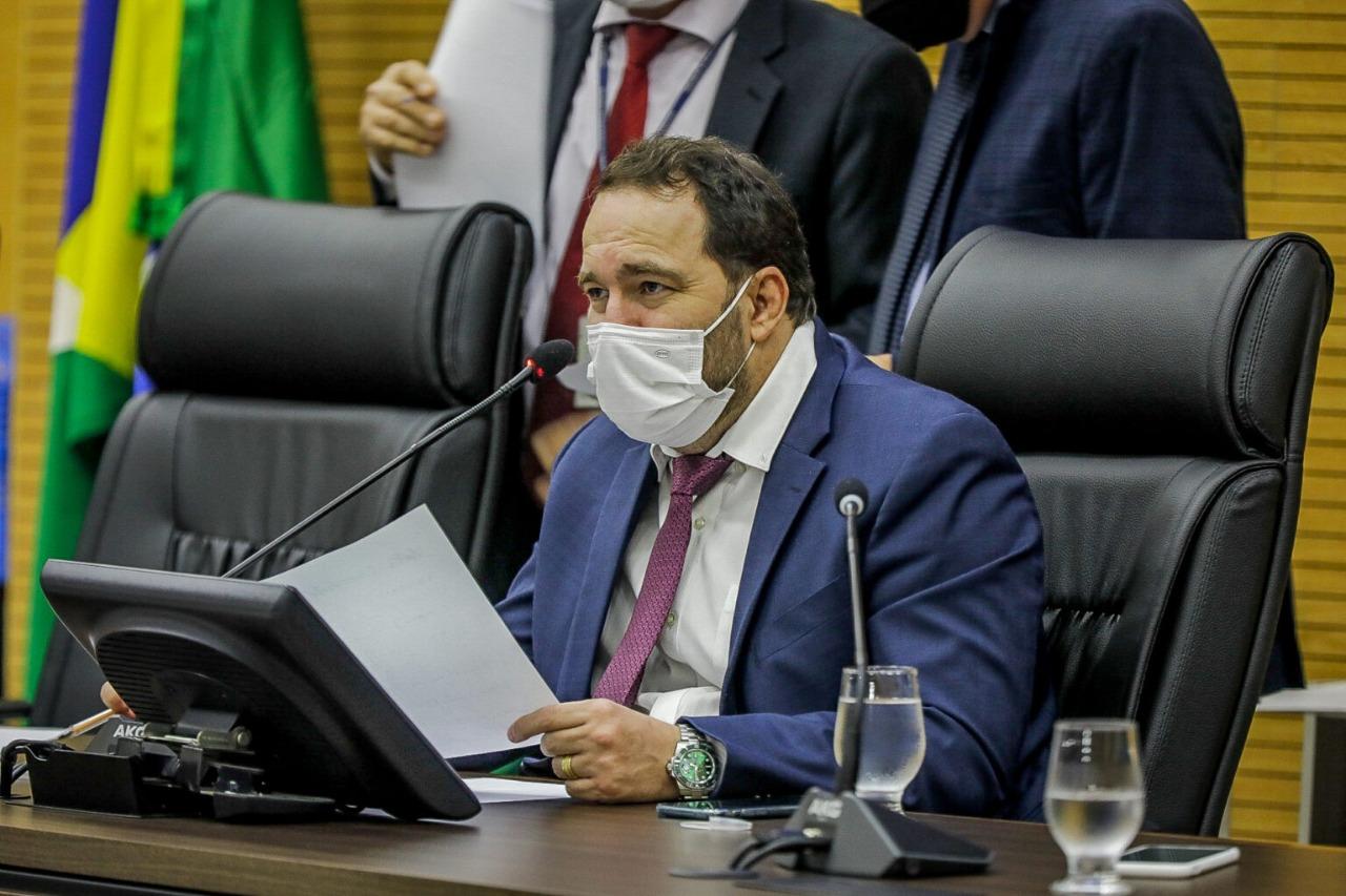 Presidente Alex Redano comemora homologação da licitação da ponte na RO-459, em Alto Paraíso