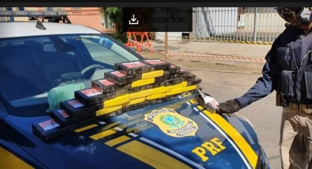 Casal de Rondônia é preso no Piauí, transportando droga avaliada em R$ 6 milhões