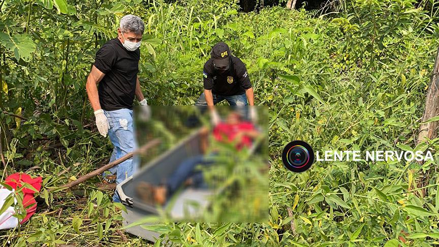 Mulher encontra adolescente morto a tiros em matagal na zona sul