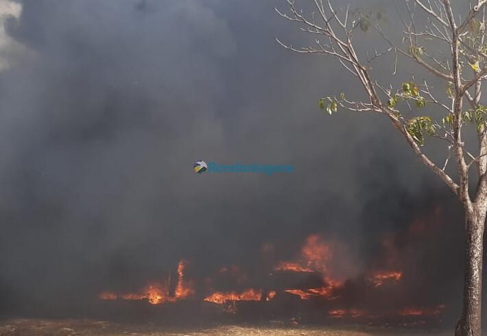 Rondônia já registrou 2.221 focos de calor em 2.021 e 55 grandes incêndios florestais em apenas uma semana