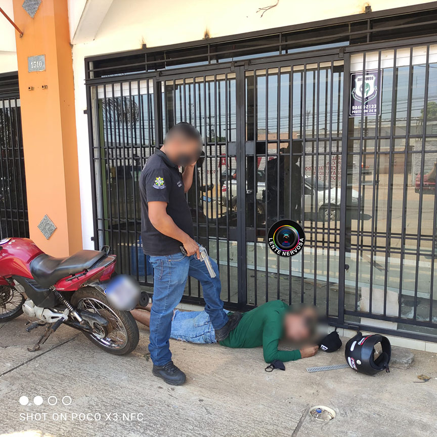 Policial de folga prende suspeito que tentava vender moto roubada ao próprio dono