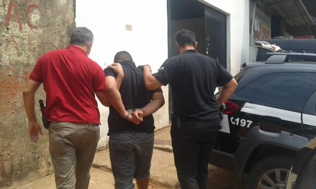 Polícia prende homem que violentou a sobrinha de 7 anos