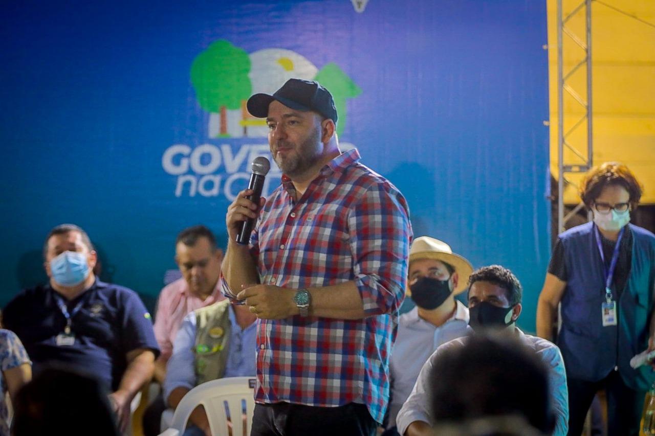 Presidente Alex Redano prestigia lançamento do Tchau Poeira em Alvorada do Oeste