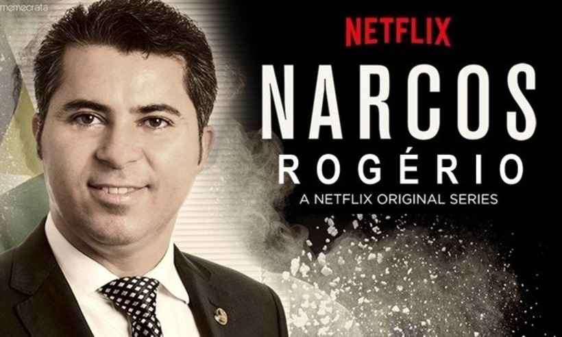 Marcos Rogério compartilha 'Narcos Rogério': 'Abjeto. Vai vendo, Brasil!'