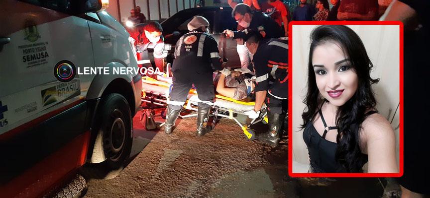 Motociclista morre no hospital após colidir de frente com carro na zona sul