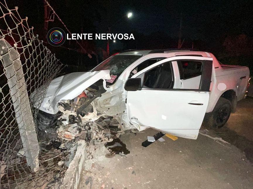 Motorista embriagado em caminhonete causa grave acidente na capital – VÍDEO
