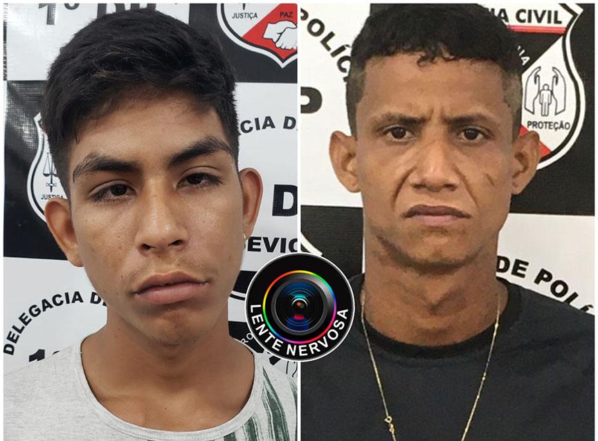 Polícia divulga fotos de tio e sobrinho que roubaram caminhonete com barco e capotaram na ponte sobre o Rio Madeira
