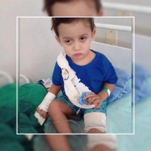 Bebê de 2 anos baleado na cabeça e no joelho em tentativa de homicídio já se alimenta sozinho e pode ter alta esta semana – VÍDEO
