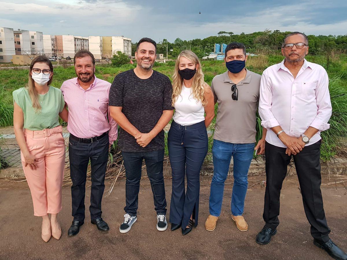 TUDO PELAS CRIANCINHAS – Léo Moraes e Hildon Chaves deixam guerra politica de lado para construir creche na capital