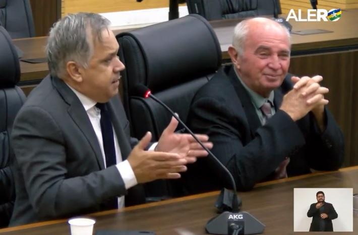 """Em plenário, Geraldo da Rondônia chama vereador de covarde e dá """"graças"""" ao foro privilegiado"""